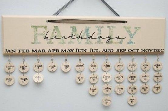 Календарь День Рождений - фото 3